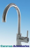 DCT4710C Comet STILO Pressure Operated Single Lever Hot & Cold Mixer Tap (Screw In Barbed Tails)