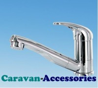 "DLT2751C Comet ROMA Microswitched Single Lever Hot & Cold Mixer Tap (1/2"" Barbed Flexi-tails)"