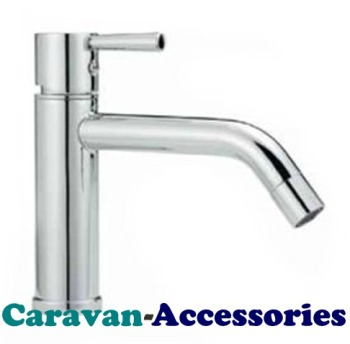 "DST3030C Premium Designer Marin Single Lever Mixer Hot & Cold Tap (3/8""BSP Male Flexi-tails)"