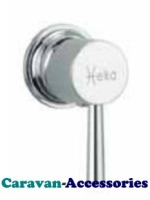 "DST3050C Premium Designer Marin Single Lever Shower Mixer Hot & Cold Tap (3/8""BSP Flexi-tails)"