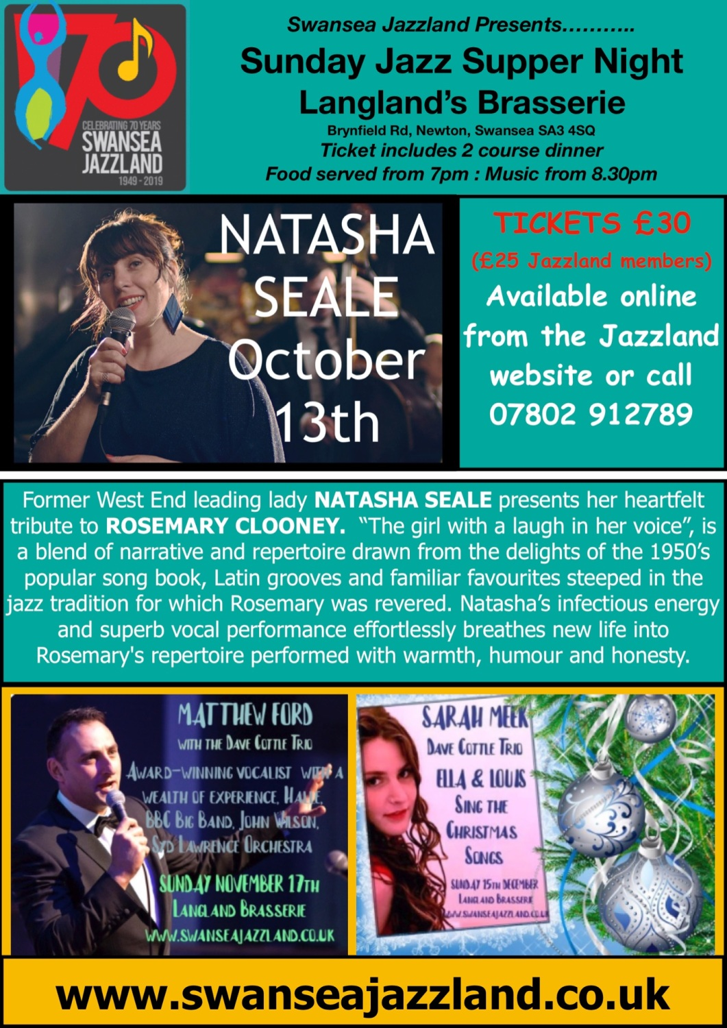 Autumn 3 gigs Langland (Online Version