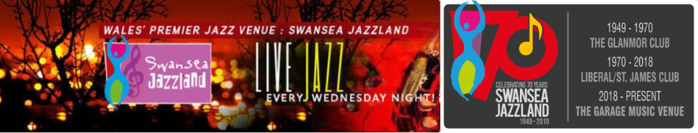 Swansea Jazzland, site logo.