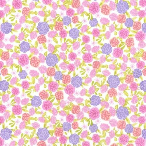 Fleur Lavender by Michael Miller 100% Cotton