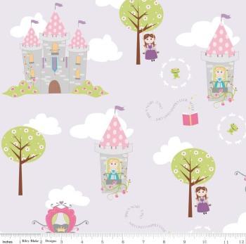 Dream And A Wish Dream Main Purple by Riley Blake Designs 100% Cotton