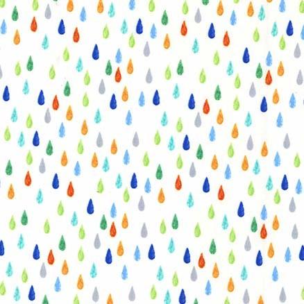 Pitter Patter Drip Dot Fresh by Michael Miller Fabrics 100% Cotton