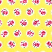 Lil' Dotsy Yellow by Michael Miller Fabrics 100% Cotton