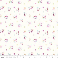 Home Petals Multi by Riley Blake 100% Cotton 40 x 112 cm