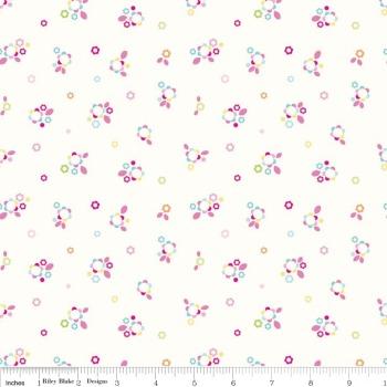 Home Petals Multi by Riley Blake 100% Cotton 40 x 112 cm