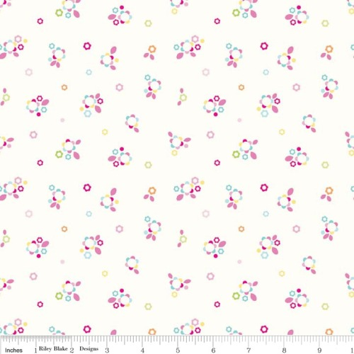 Home Petals Multi by Riley Blake 100% Cotton