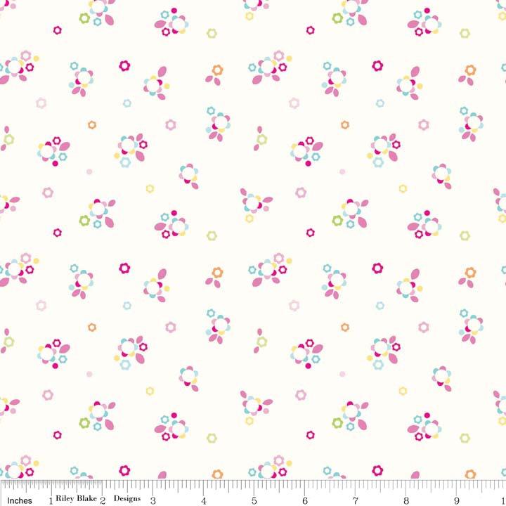 Home Petals Multi by Riley Blake 100% Cotton