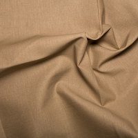 Taupe Klona Solid Plain 100% Cotton Extra Wide