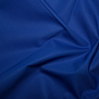 Royal Blue Klona Solid Plain 100% Cotton Extra Wide