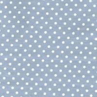 3mm Tiny Dots Grey by Rose & Hubble 100% Cotton