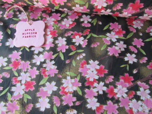 Kimono Blossom Gold 100% Cotton