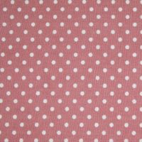 3mm Tiny Dots Rose by Rose & Hubble 100% Cotton