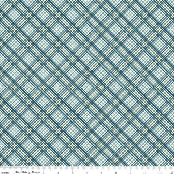 Offshore Plaid Blue by Riley Blake Designs 100% Cotton