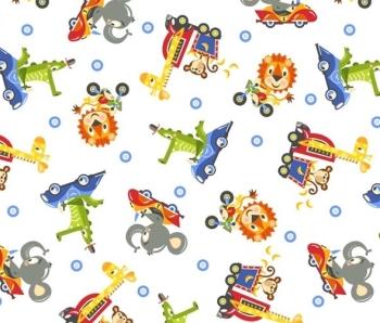 Safari Drive by Studio E Fabrics 100% Cotton
