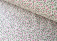 Alice Mini Florals Pink by Rose & Hubble 100% Cotton