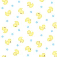 Baby Love Ducks Double Gauze by Studio E Fabrics