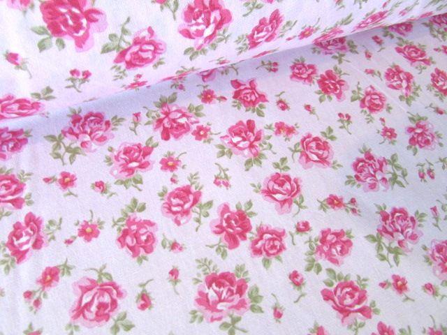 Julia Pink Vintage Floral 100% Cotton
