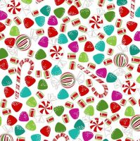 Dear Santa Candy by Studio E Fabrics 100% Cotton