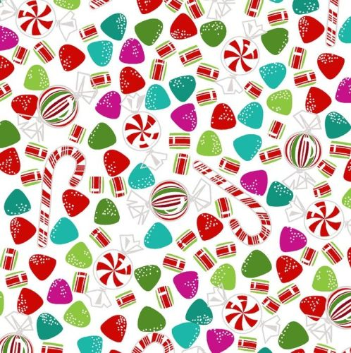 Dear Santa Candy by Studio E Fabrics 100% Cotton