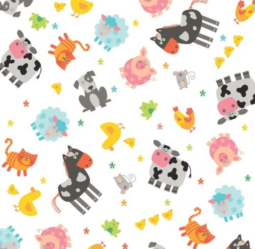 Funny Farm by Studio E Fabrics 100% Cotton