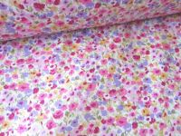 Olivia Floral Blossom on Lilac 100% Cotton