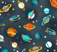 Space Adventure Planets by Studio E Fabrics 100% Cotton