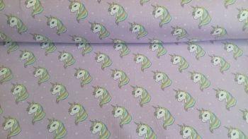 Starstruck Unicorns Lilac Jersey by John Louden