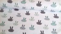 Bunny Rabbit White Jersey by John Louden