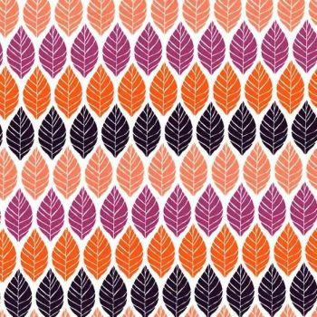 Rustique Leaf Press Plum by Michael Miller 100% Cotton 34 x 110 cm