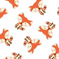 Fun and Games II Foxes by Studio E Fabrics 100% Cotton