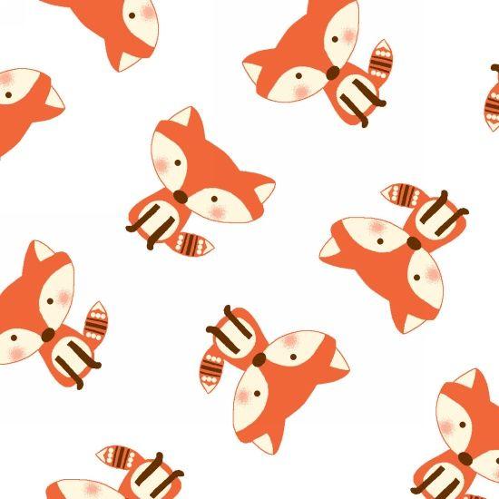 Fun and Games II Foxes by Studio E Fabrics 100% Cotton