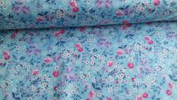 Isabelle Floral Sky by Rose & Hubble 100% Cotton