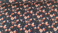 Megan Floral on Navy by Rose & Hubble 100% Cotton