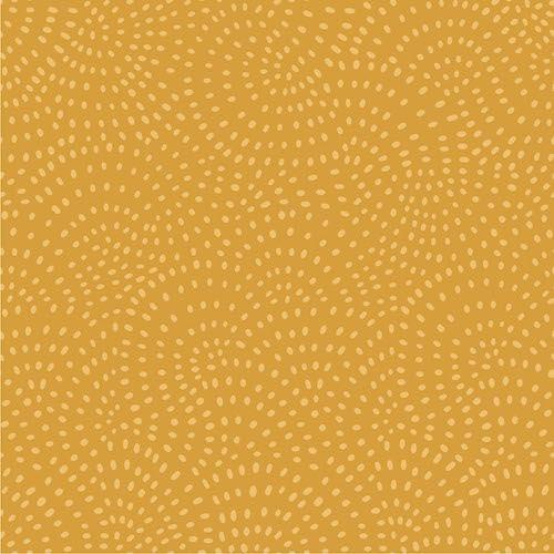 Twist - Gold by Dashwood Studio 100% Cotton