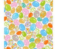 Carrot Patch Eggs by Studio E Fabrics 100% Cotton