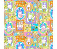 Carrot Patch Patchwork by Studio E Fabrics 100% Cotton