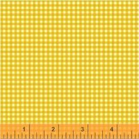 Trixie Check Yellow by Windham Fabrics 100% Cotton