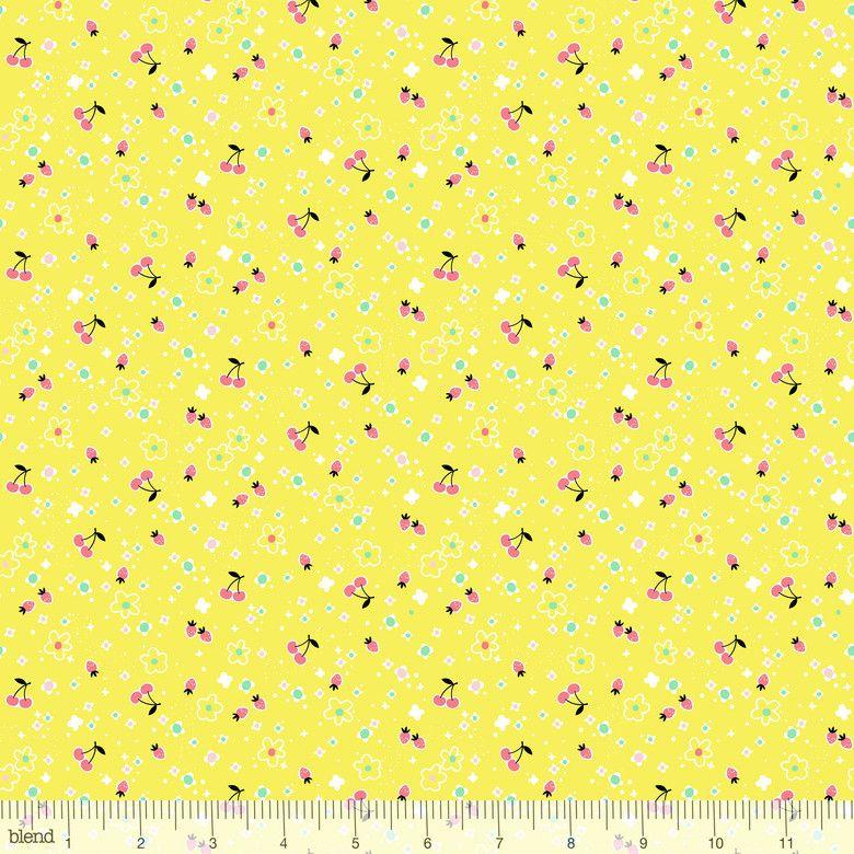 Fruitopia Berrylicious Lemon by Blend Fabrics 100% Cotton