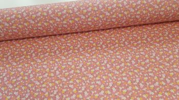 Maisy Ditsy Floral Rose by Rose & Hubble 100% Cotton