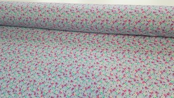 Maisy Ditsy Floral Lavender by Rose & Hubble 100% Cotton
