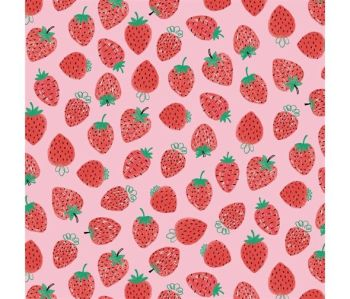 Summerlicious Strawberries by Studio E Fabrics 100% Cotton