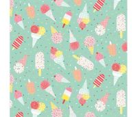 Summerlicious Ice Creams and Lollies by Studio E Fabrics 100% Cotton