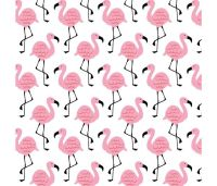 Summerlicious Flamingos by Studio E Fabrics 100% Cotton