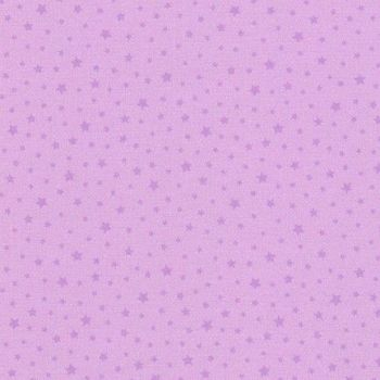 Chasing Rainbows Princess Purple Stars by Robert Kaufman Fabrics 100% Cotton