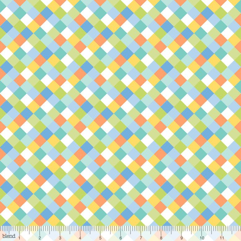 Dino-mite Fallen Turquoise by Blend Fabrics 100% Cotton