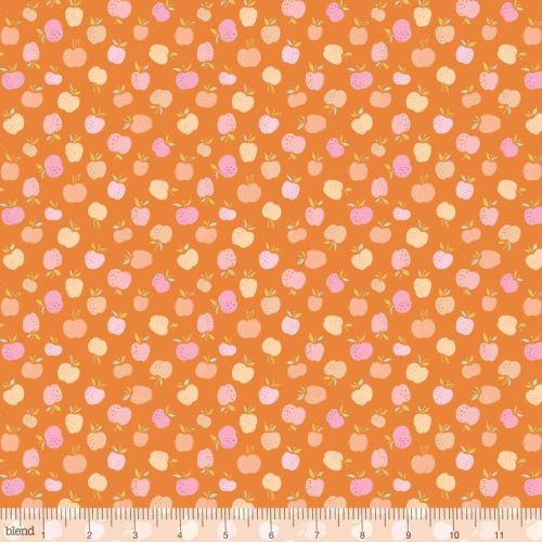 Storytime Apple of my Eye Orange by Blend Fabrics 100% Cotton