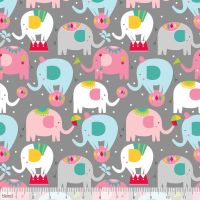 Piccadilly Balancing Act Grey by Blend Fabrics 100% Cotton